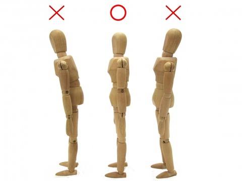 正しい姿勢を保つ筋力を鍛える。正しい立ち方のコツ
