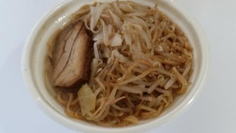中華蕎麦とみ田監修 ワシワシ食べる豚ラーメン(税別550円)