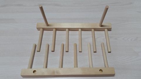 セリアスマホスタンド木製ディッシュスタンド木工用ボンド
