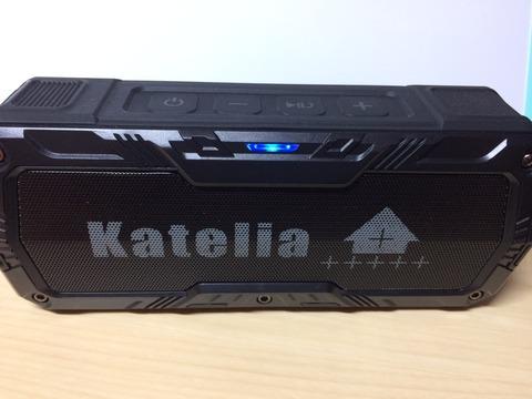 【メリットとデメリット】Katelia(カテリア) Bluetooth搭載防水スピーカー【感想は悪くないです】
