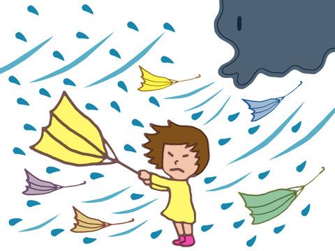 暴風の原因は春の嵐とはメイストリーム岩手県に暴風警報