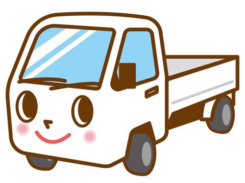 2020年7月12日開催雫石町の元祖しずくいし軽トラ市駐車場