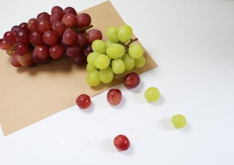 奇跡のむき方ブドウの美味しいむき方