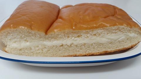 食べた感想は。ふわふわ牛乳入りパン140円ヤマザキパン