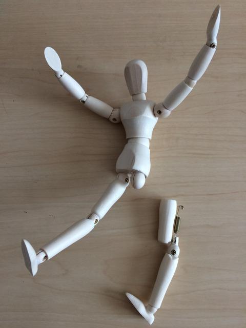 デッサン人形失敗したコト「レシートは捨てずに取っておこう」