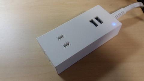 感想OHMオーム電機USBポート付安全タップデメリット