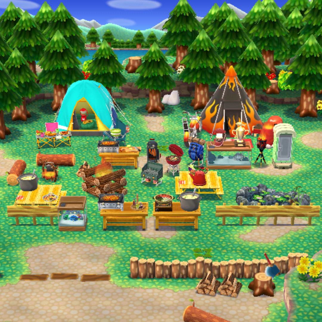 あつ 森 キャンプ サイト 拒否