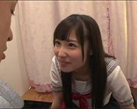 【エロ動画】JKリフレで凄く笑顔が可愛いJKにフェラ抜きしてもらえた!||