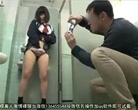 【エロ動画】可愛いJKが公衆トイレで大人にやり捨てされる…