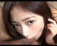 【エロ動画】優しく玉舐めしてくれる巨乳な女の子に顔射フィニッシュ!