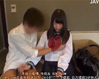 【エロ動画】制服JKとその彼氏がお金貰ってカメラの前でエッチする