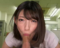 【エロ動画】お姉さんにしっかりと見つめられながらフェラされて口内射精  