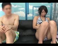【エロ動画】MM号で一度きりのひと夏の思い出セックス||