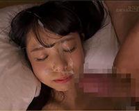 【エロ動画】清楚なJKが和室でおじさんとSEX 大量顔射される