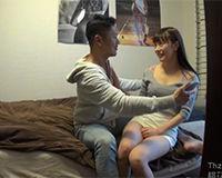 【エロ動画】大人っぽい格好してるけど顔は童顔な女の子を連れ込みSEX!