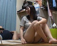 【エロ動画】谷間が丸見えのエロ過ぎる私服を着たムチムチの女の子とヤる