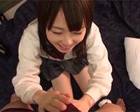 【エロ動画】可愛い笑顔を絶やさないJKとハメ撮り中出し!||