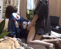 【エロ動画】夏祭りデートの後は浴衣姿のままでエッチしちゃう!||