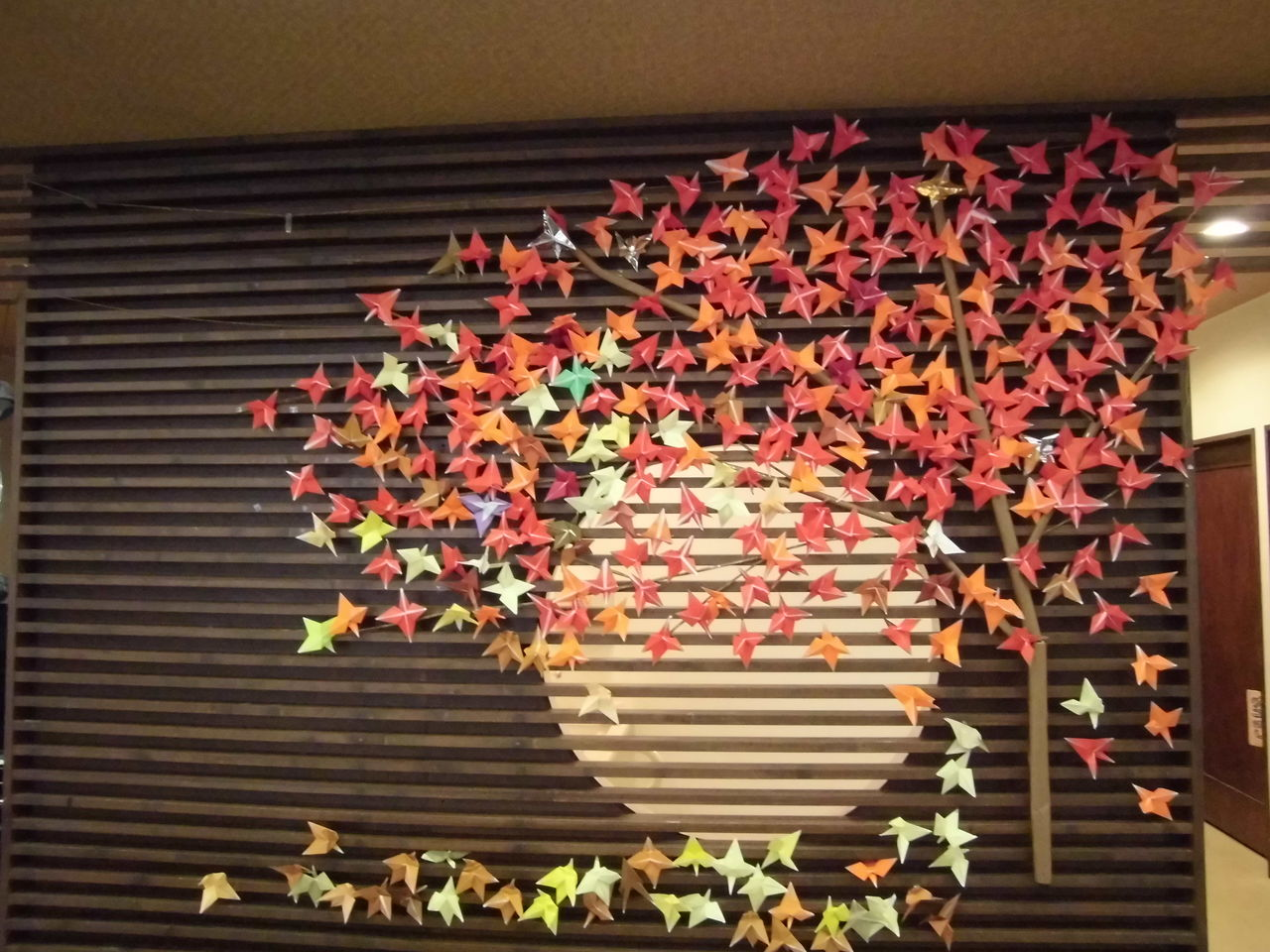 壁画 紅葉