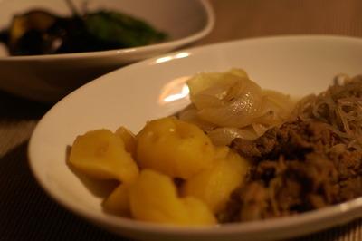 鎌倉野菜の肉じゃが&茄子の揚げ浸し