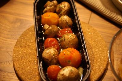 トマトとマッシュルームのアヒージョ&カポナータ(レシピ付き)