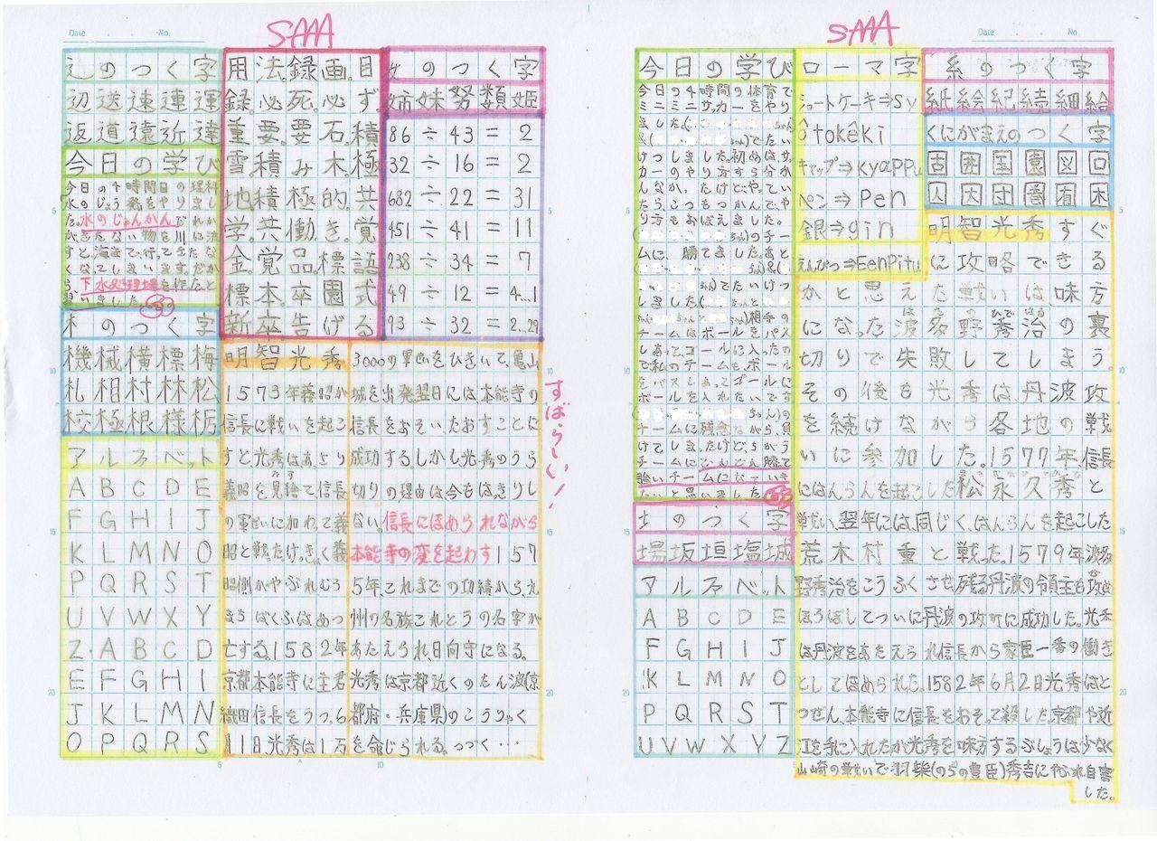 国語 2年生 国語ノート : 小学校教育 ブログランキング ...