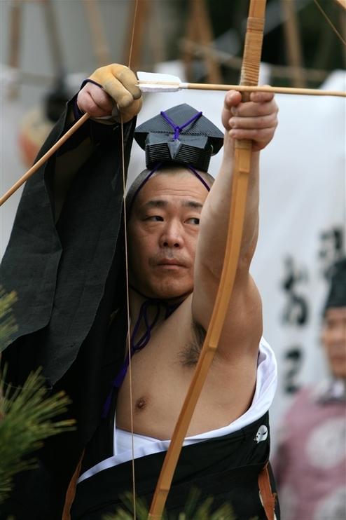 鞆のお弓神事