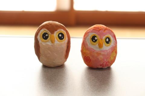 卵のフクロウ