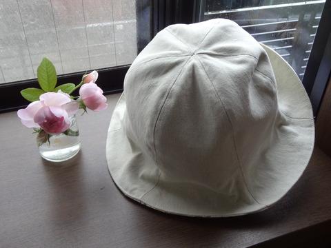 帽子てっぺん