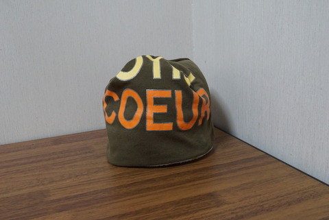 ティーシャツの帽子2