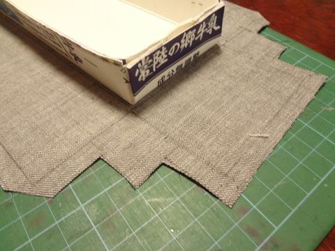 布の張り方1