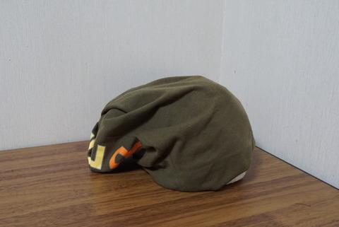 ティーシャツの帽子