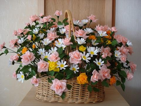紙の花4、