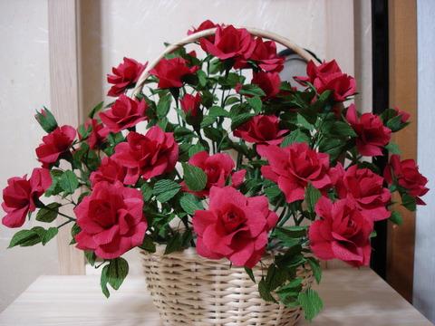 赤バラ1、