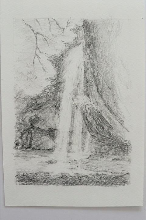 月待ちの滝 (2)