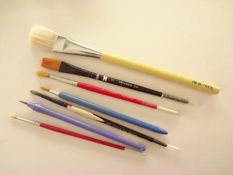 ベニヤ板用の筆