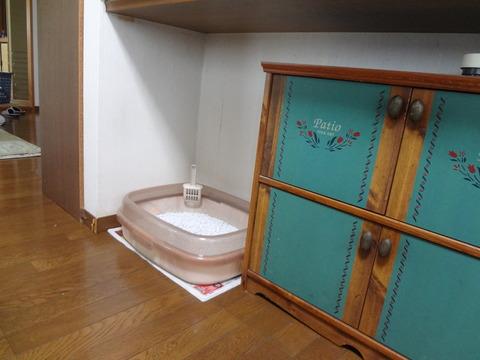 トイレの置き場所