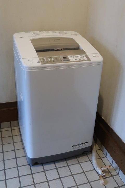 今までの洗濯機