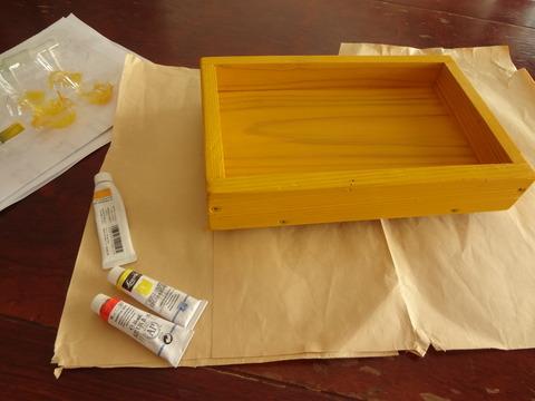 黄色に塗りました20190320