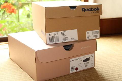 中には靴がふたつ箱に入って