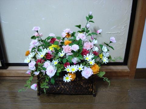 紙の花10、