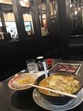 味噌野菜ラーメン&半チャーハンセット