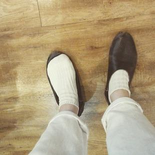 蒸れ知らず!快適、和紙靴下