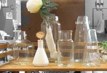 ガラスの花瓶