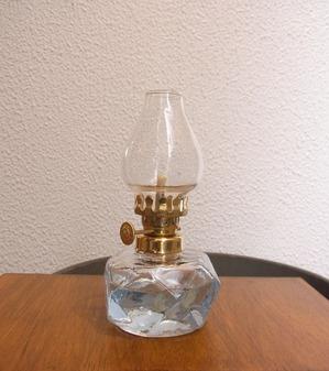 ガラスオイルランプ ポーランド製