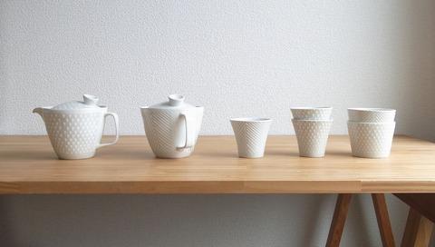 ポットとカップ