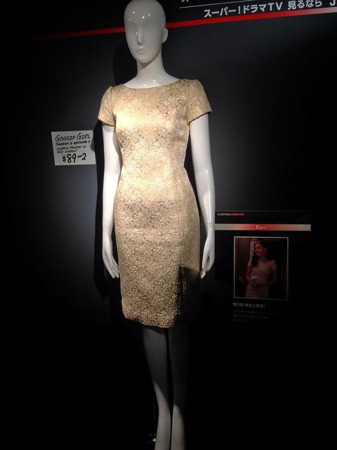 gossip girl ドレス