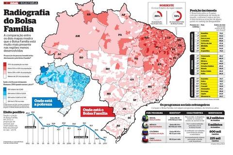 bolsa familiaの地図