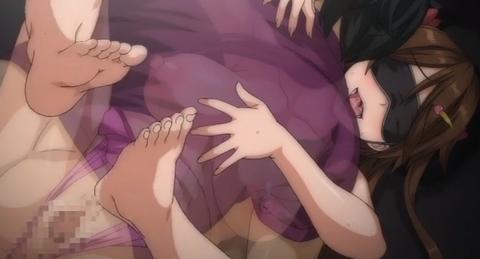 《エロアニメ 寝取られ ハメ撮り》『いっぱい
