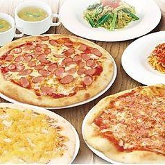 グラッチェのピザ食べ放題の画像